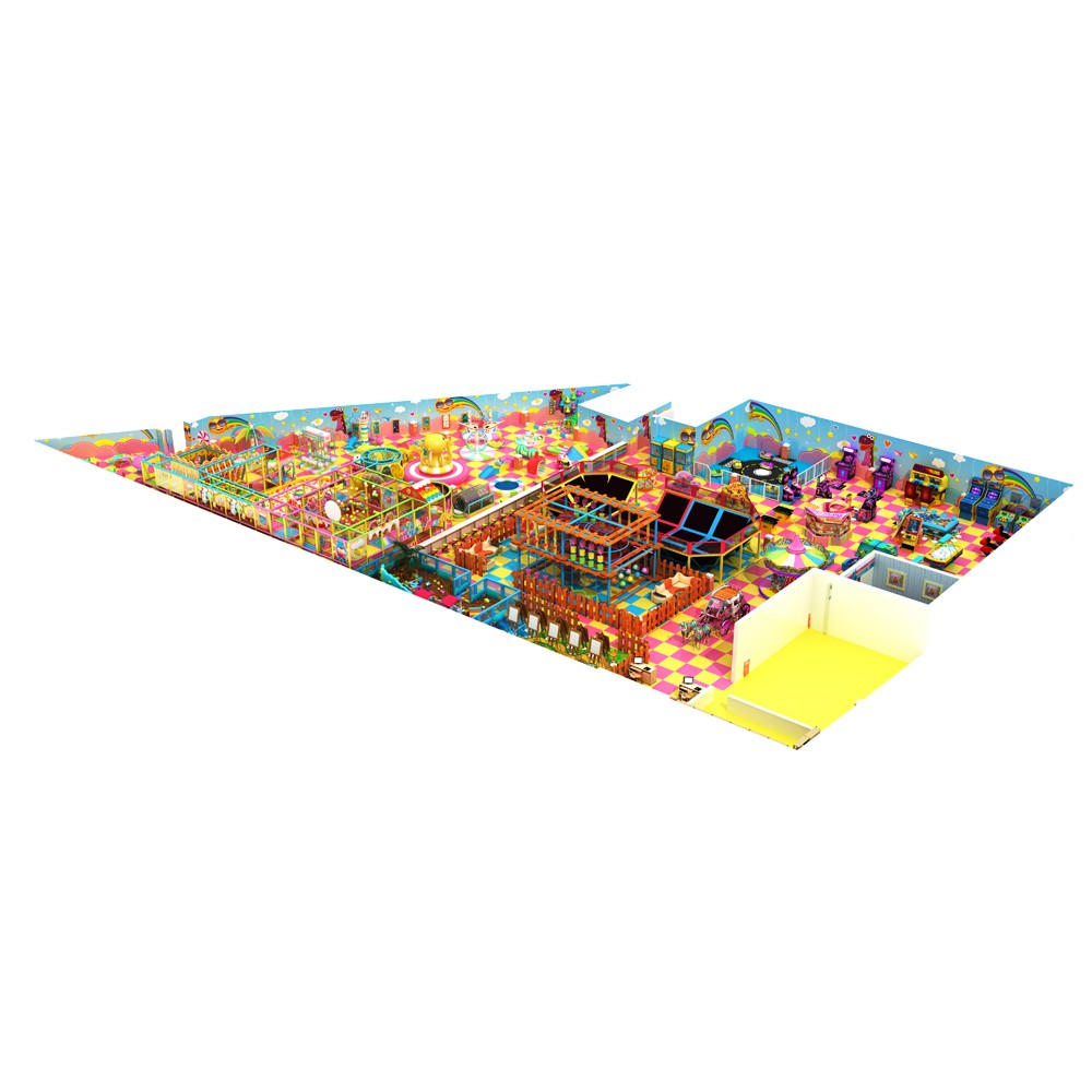 Commercial Kids Play Zone Soft Indoor Kids Area Wholesale Daycare Supplies