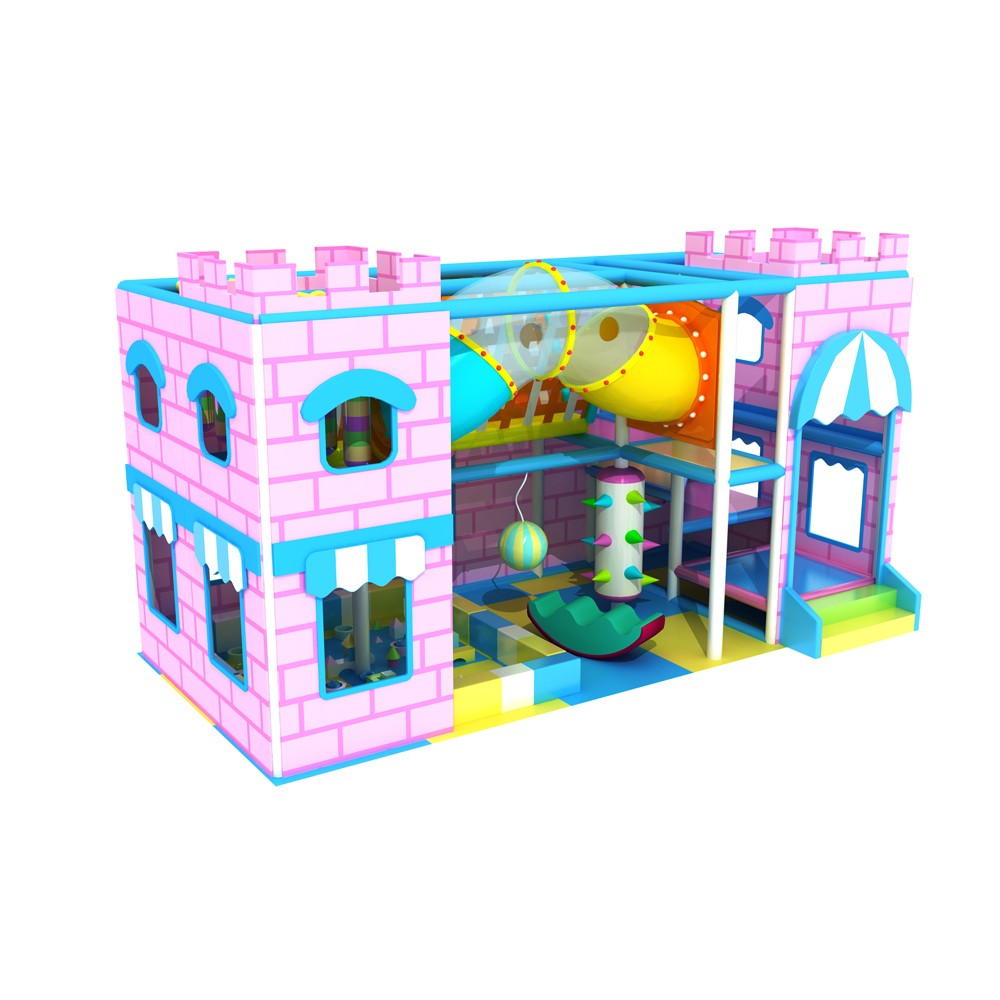 Castle Theme Children Play Area Toys Soft Play Environmental Indoor Playground
