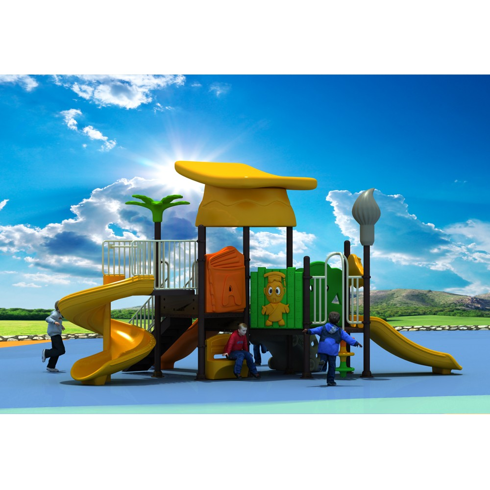 Environmental Kids Outdoor Games Playground Equipment for Sale