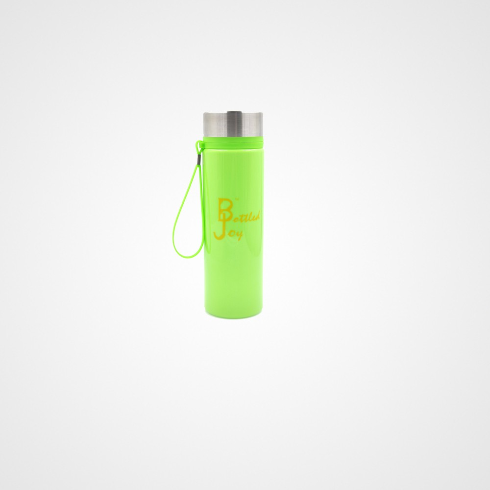 Bottledjoy Tritan Water Bottle with Fruit Infuser and Carrying Handle, 800ML Green